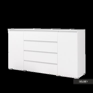 Sideboard HELLNAR mit 4 Schubladen und 2 Schranktüren