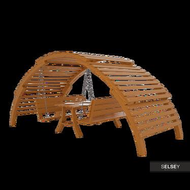 Gartenmöbel-Set ALTANA mit Schaukel, Bank und Tisch