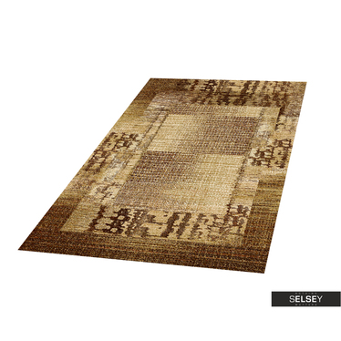 Teppich BASAL ABSTRAKT sandbraun