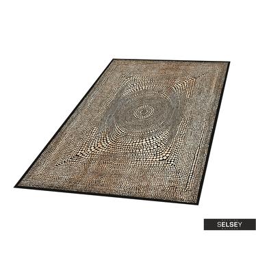 Teppich BASAL ABSTRAKT II braun
