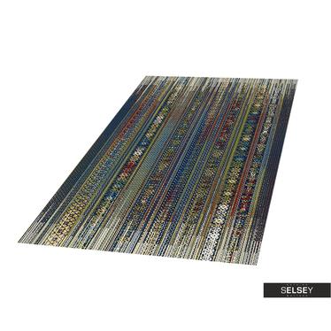 Teppich BASAL ORNAMENT I dunkelblau