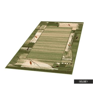 Teppich BASAL ABSTRAKT VI grün