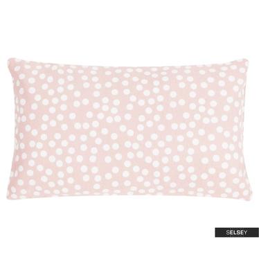 Dekokissen ALLOVER DOTS rosa 30x50 cm