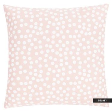 Dekokissen ALLOVER DOTS rosa 45x45 cm