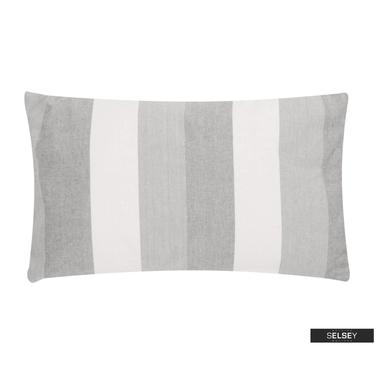 Dekokissen CLASSIC STRIPE grau 30x50 cm