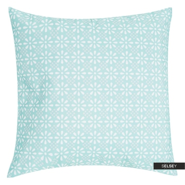 Dekokissen DAISY FLOWER blau 47x47 cm