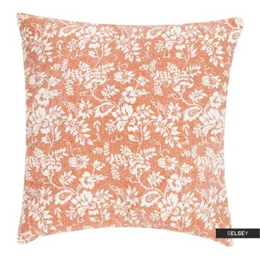 Dekokissen FLOWER GARDEN orange 45x45 cm