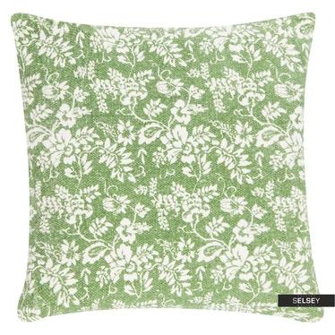 Dekokissen FLOWER GARDEN grün 45x45 cm