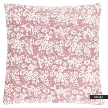Dekokissen FLOWER GARDEN rosa 60x60 cm