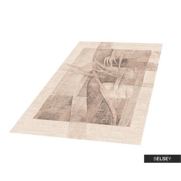 Teppich GOBELIN ABSTRAKT III cremefarben