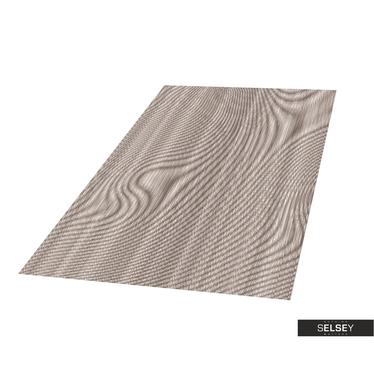 Teppich GOBELIN ABSTRAKT V aschgrau