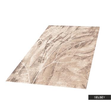 Teppich GOBELIN FLORA II aschgrau