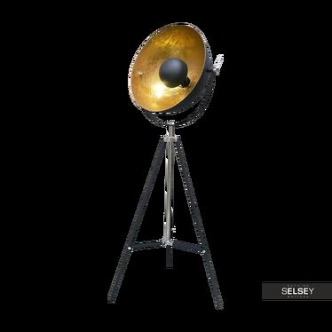 Stehlampe GRAVITY schwarz/gold