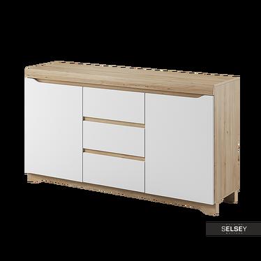 Sideboard ANTIGUA mit 3 Schubladen