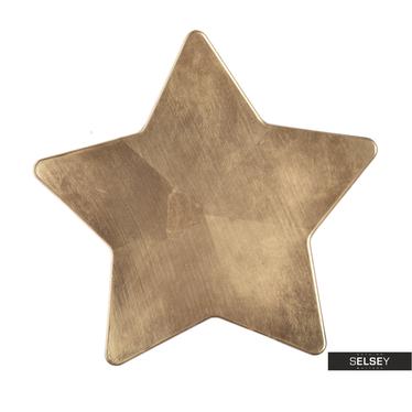 Dekoteller STERN gold 28 cm