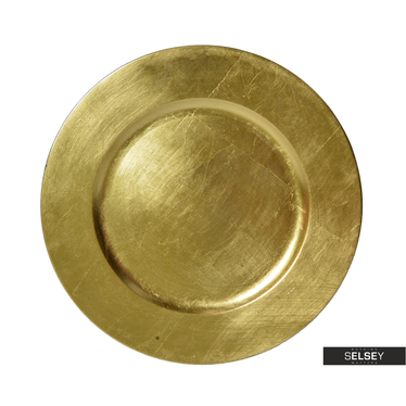 Dekoteller GOLD 33 cm