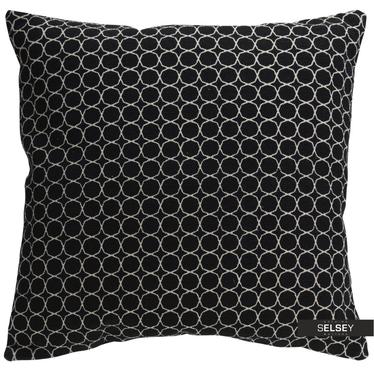 Dekokissen MONE schwarz 60x60 cm
