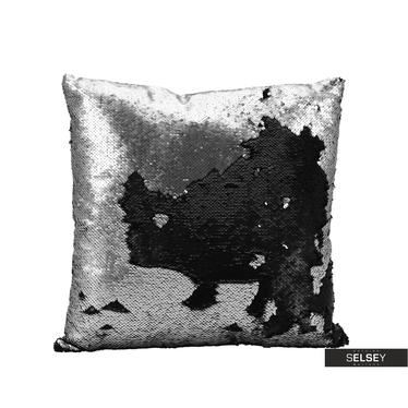 Dekokissen SPARKLE silber 45x45 cm