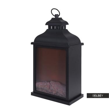 LED-Laterne mit Feuer-Effekt