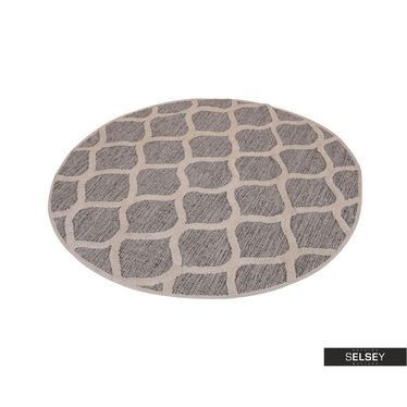 Teppich WABE cremefarben 120 cm