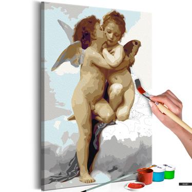 Malen nach Zahlen ENGEL LOVE 40x60 cm
