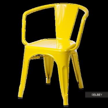 Stuhl PARIS ARMS in Gelb