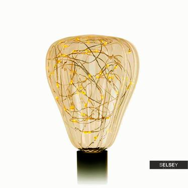 Glühbirne PARKLIM 18,5 cm mit 50 LEDs golden