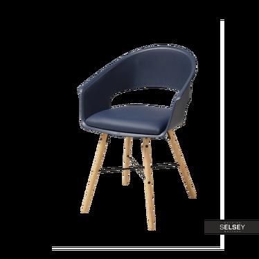 Stuhl MOSKAL dunkelblau