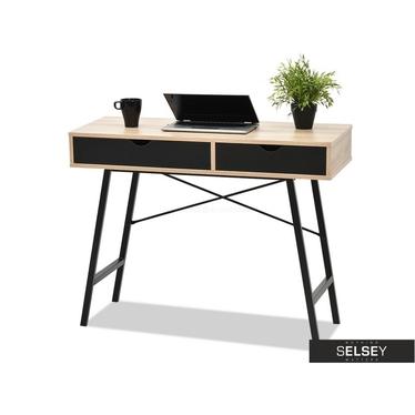 Schreibtisch FALUN schwarz/Sonoma