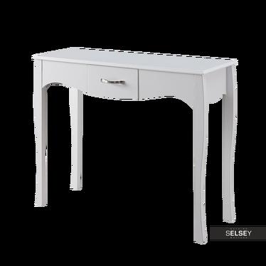 Konsolentisch LUARCA 102 cm weiß mit Schublade
