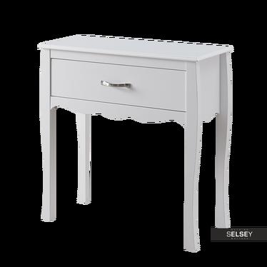 Konsolentisch LUARCA 76 cm weiß mit Schublade