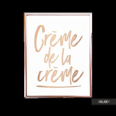 Poster CRÈME DE LA CRÈME