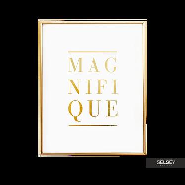 Poster MAGNIFIQUE