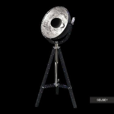 Stehlampe GRAVITY schwarz/silber