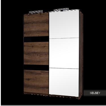 Kleiderschrank ARDINO 150 cm mit Spiegel