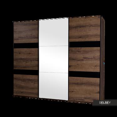 Kleiderschrank ARDINO 250 cm mit Spiegel