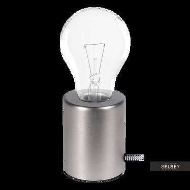 Tischlampe WATSON 10 cm silber