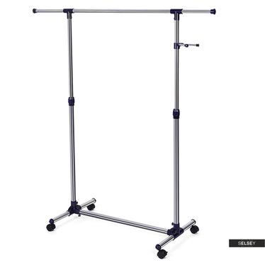 Kleiderständer CLINIC schwarz 87-150 cm
