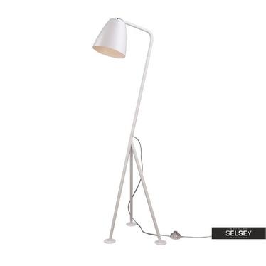 Stehlampe Birala weiß