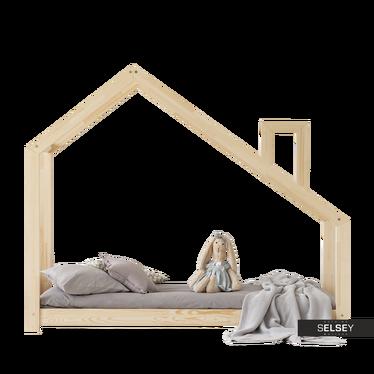 Kinderbett DALIDDA Hausbett mit Schornstein