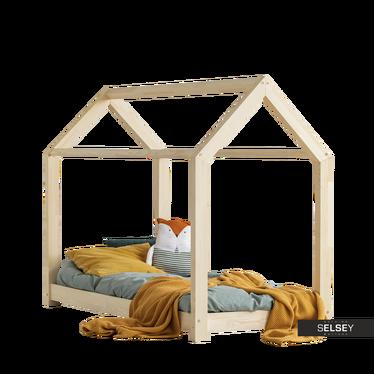 Kinderbett PAWERA in Häuschenform