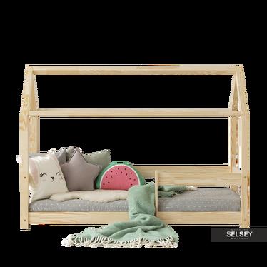 Kinderbett DALIDA Häuschen mit Fallschutz
