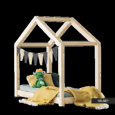 Kinderbett KERRES in Häuschenform