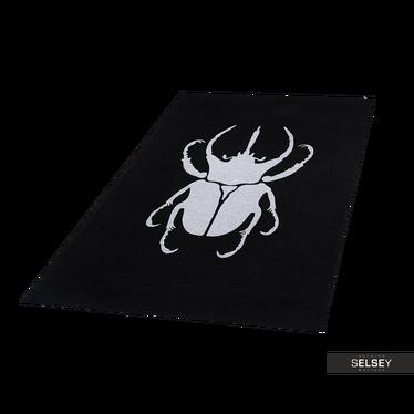 Teppich SCARABIO black by Maciej Zień