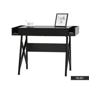 Schreibtisch BORAS schwarz
