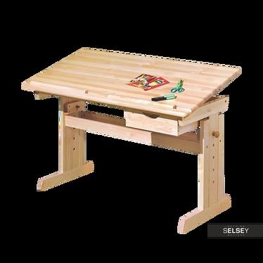 Schreibtisch ERVEL verstellbare Neigung der Tischplatte