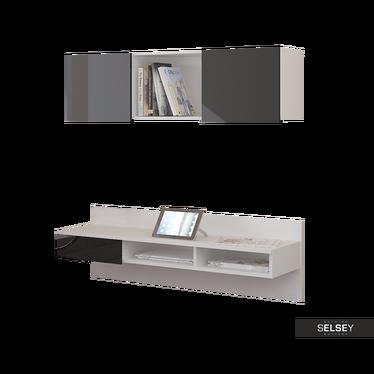 Wand-Schreibtisch GRAFEN mit/ohne Wandregal