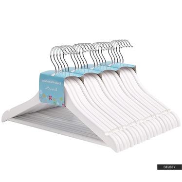 Kleiderbügel KIDS SNOW WHITE 20 Stück mit drehbarem Haken