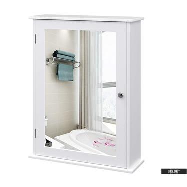 Spiegelschrank WLENS weiß 1-türig 41 cm