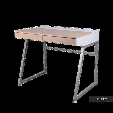 Schreibtisch PAOLA mit Kabeldurchlass
